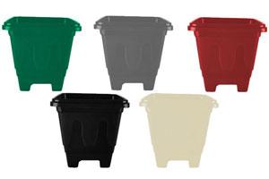 Vasos Quadrados de Plástico